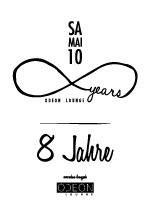 8 Jahre Odeon Lounge Würzburg